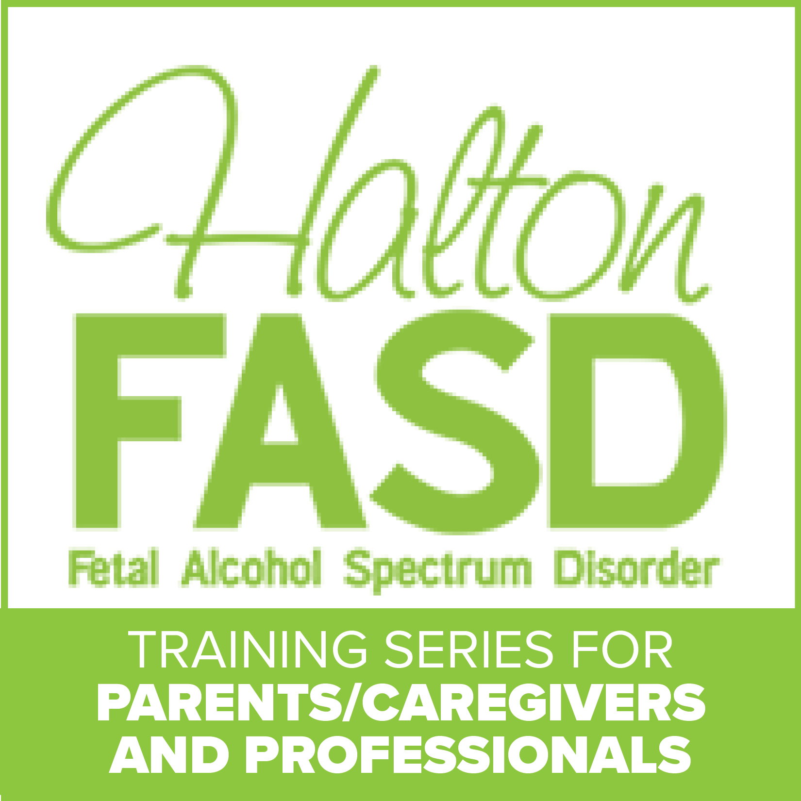 Halton FASD Training